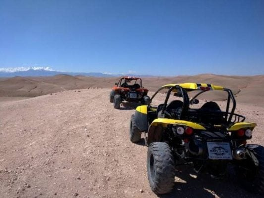 Quad Biking in the Agafay Desert