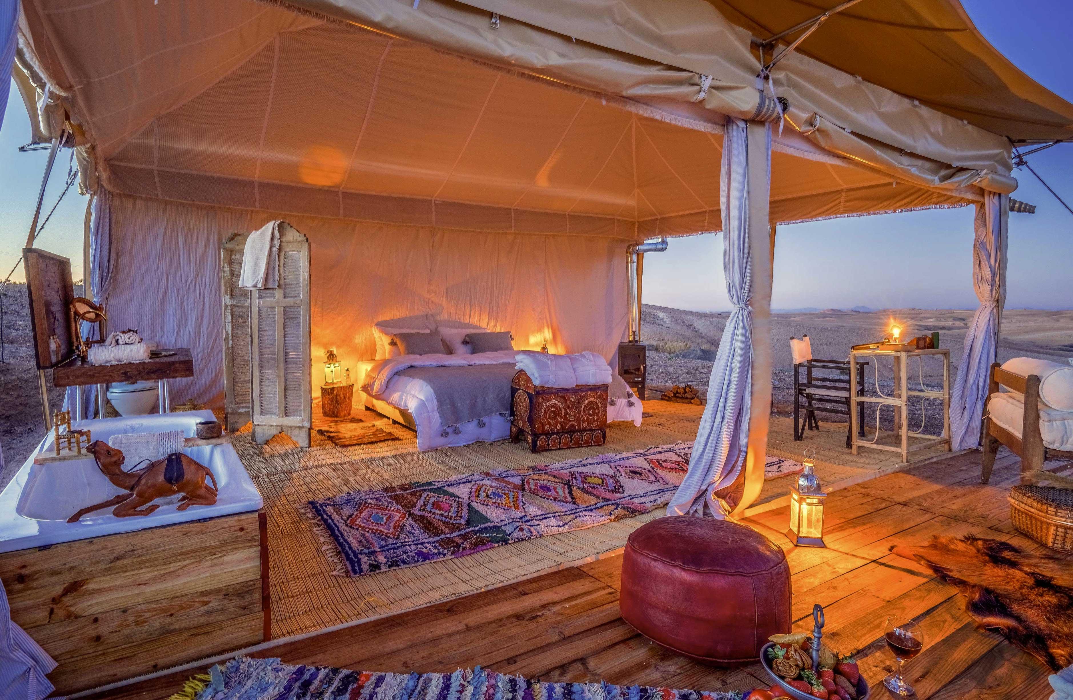agafay-desert camp marrakech
