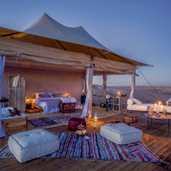 agafay desert camp morocco