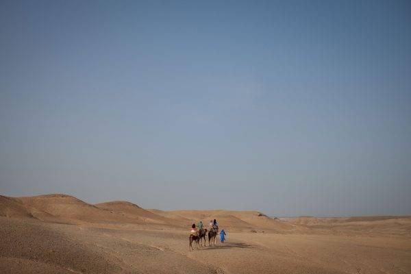 le desert d'Agafay