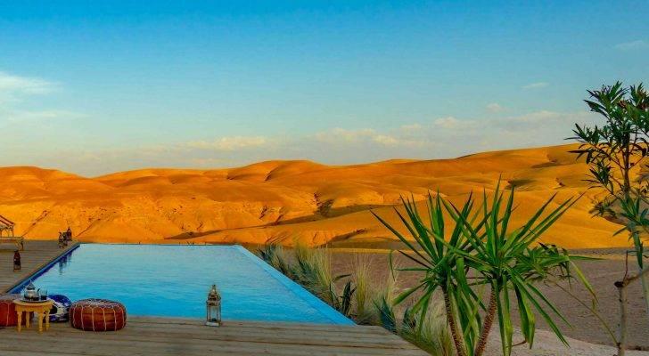 Agafay deset luxury camp