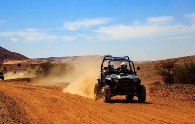 Balade quad au désert d'Agafay