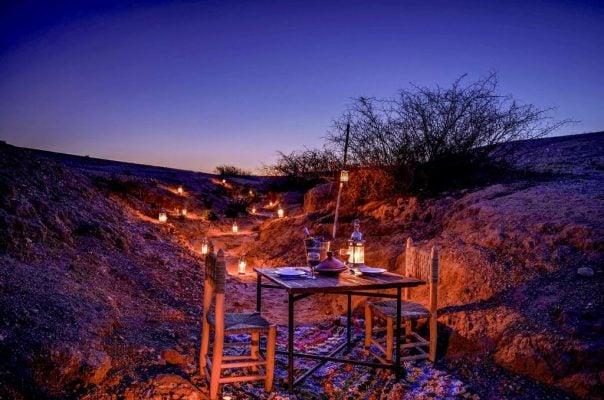 Agafay, una notte nel deserto di Marrakech