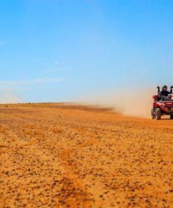 Percorso in quad nel deserto di Agafay