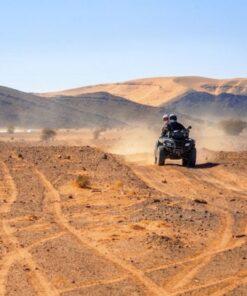 quad au desert d'Agafay