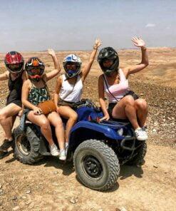 Agafay luxury camp quad atv escursions