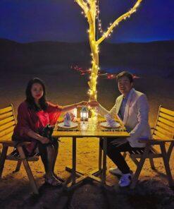 agafay desert camp dinner