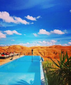 agafay desert swimming pool