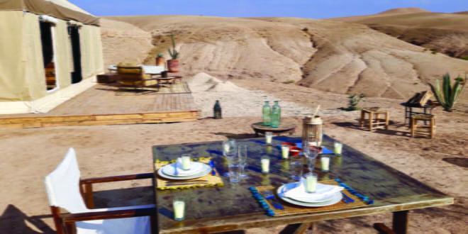 Inara Camp Agafay bivouac